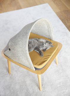 Cat Cocoons for Contemporary Interior – Fubiz Media http://www.fubiz.net/2015/10/13/cat-cocoons-for-contemporary-interior/