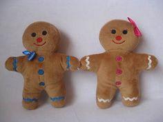 1 Pair Shrek Gingy Gingerbread Man Plush Doll | eBay