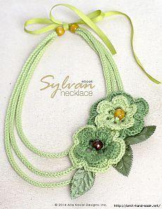 Красивые украшения, связанные крючком - Рукоделие
