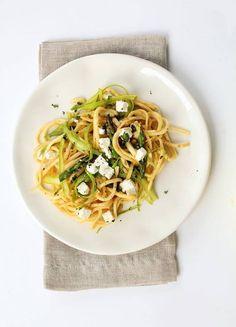 Spaghettis de céleri  #recette #vegan