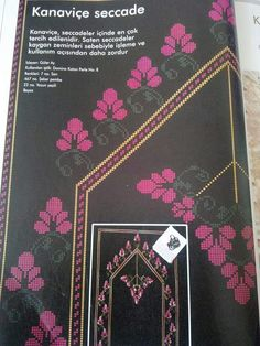 This Pin was discovered by mev Prayer Rug, Cross Stitch Embroidery, Cross Stitch, Punto De Cruz, Dots, Needlepoint