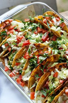 Baked Crunchy Taco Casserole using stand-up taco shells