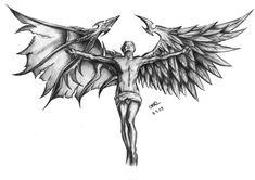 Angel and Devil by ~blackcatbo on deviantART