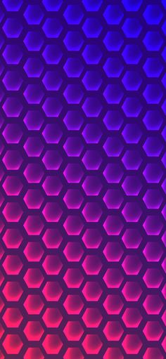 Purple Wallpaper, Wallpaper Backgrounds, Iphone Wallpaper, Wallpapers, Hexagons, Smartphone, Colorful, Abstract, Pink
