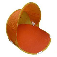 Protégete del sol y la lluvia, con la tienda innova axe. Montage en 2 segundos. ligera, cómoda y facil de llevar. Dimensiones: Abierto 140cm diámetro x 70 cm de altura Cerrado: 50 cm de diámetro