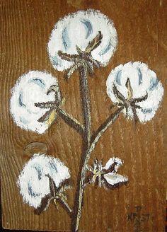Acrylic paint on wood