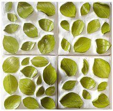 cool nature-inspired 3D ceramic tiles