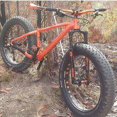 """""""Mi piace"""": 120, commenti: 7 - @autiger1986 su Instagram: """"Not my bike but it's time for me to move across some trails!! Po @fatbike_italia_restodelmondo """""""