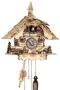 Black Forest House, Coo Coo Clock, Cuckoo Clocks, Quartz, Houses, Watches, Decor, Clocks, Homes