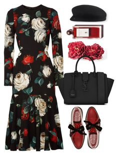 """""""Dolce"""" by thestyleartisan ❤ liked on Polyvore featuring Dolce&Gabbana, Marc by Marc Jacobs, Yves Saint Laurent and Chanel"""