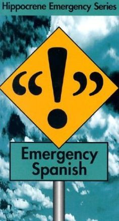 Emergency Spanish by Ana Bremon
