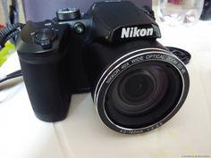 Nikon Coolpix B500 Kamera:  Nikon hat mich positiv überrascht! Das ist eine Kamera mit 40-fachem Zoom! Die Fischer, die einen Kilometer vom Ufer entfernt angeln, wissen nicht, dass jemand sie fotografiert :) Ein echtes Spionagegadget :)