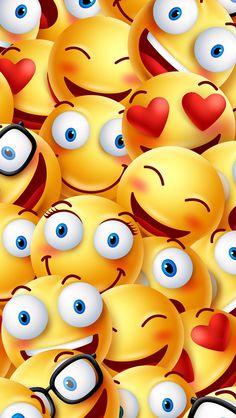 Imagen de wallpaper emoji and iphone pinteres iphone wallpaper smile altavistaventures Images