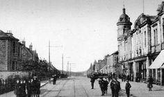 Tour Scotland Photographs: Old Photograph Bank Street Lochgelly Fife Scotland
