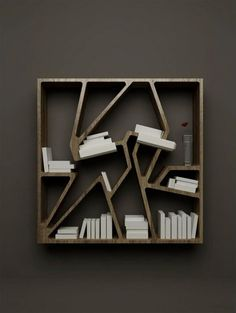 Cheap and Modern Minimalist Bookshelves for Space Saving | Modern Architecture Design, Interior Design Ideas, Minimalist Home Designs, Garden Layouts, Kitchen Cabinets | FOPPLE.COM
