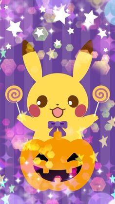 Pikaaachu :P Poke Pokemon, Ash Pokemon, Pokemon Party, Halloween Backgrounds, Halloween Wallpaper, Fall Halloween, Halloween Crafts, Pokemon Rumble Blast, Pichu Pikachu Raichu