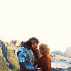 ............. I have NEVER EVER EVER EVER EVER seen Uncle just walk up and hug someone. NEVER. Until Bilbo. -Fili