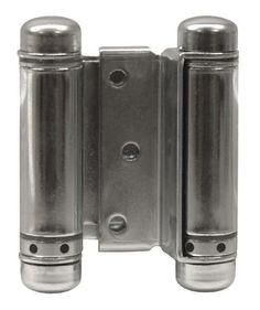 "Zinc - Bommer Double Acting Mortise Spring Hinges Multiple Sizes (3"" - 8"") - Single Hinge"