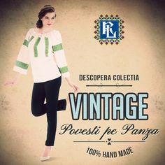 Se poarta #vintage<3 #ie #romanianblouse #ieromanianlabel Unique Vintage, Blouses, Traditional, Handmade, Hand Made, Blouse, Woman Shirt, Hoodie, Top