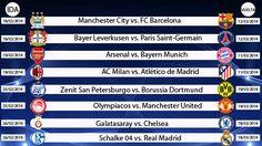 Champions League: así se jugarán los octavos de final. #depor