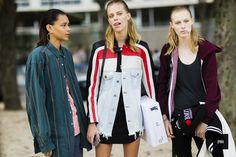 Binx Walton, Lexi Boling and Julia Nobis - Paris
