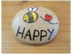 Rock Painting Patterns, Rock Painting Ideas Easy, Rock Painting Designs, Painting For Kids, Pour Painting, Canvas Patterns, Painted Rock Animals, Painted Rocks Craft, Hand Painted Rocks
