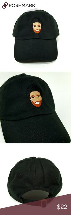 Childish Gambino Hat $$******READ DESCRIPTION*****$$   *New adjustable hat   *If posted still available   *I ship next day if purchased before 5 PM on Sunday and 7.30 PM every other day, if purchased after hours it will be shipped the day after tomorrow   *Shipping takes about 5 days please don't rate based off shipping speeding i don't control USPS   *Trusted seller buy with confidence. Accessories Hats