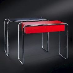 PostDeco console tables 1120 and 1121 - designed by Kaisa Blomstedt. Available after 21 days from order at 785 € per piece.
