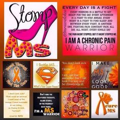 MULTIPLE SCLEROSIS AWARENESS...Keep Fighting, Stay Positive