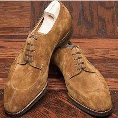 1cd462fc36c Handmade Men s Brown Color Suede Shoes