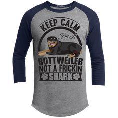 Keep Calm I'm A Rottweiler - Sport-Tek Sporty T-Shirt