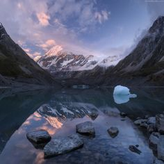 Calm Aoraki by Daniel Kordan on 500px