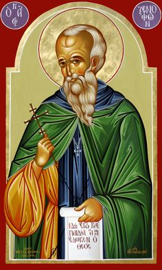 St. Xenophon by Michael Hajimichael