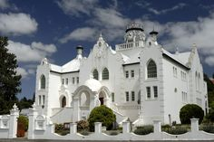 'White Church Canvas Art - 24 x 16 x 2 Port Elizabeth, Cathedral Church, Church Building, Building Structure, Place Of Worship, Kirchen, Travel Photographer, Adventure Travel, South Africa
