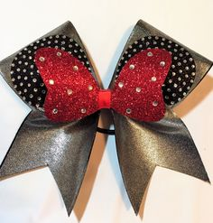 Minnie Mouse Cheer Bow June 2017