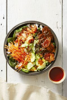 Spicy Sesame Rice Bowls