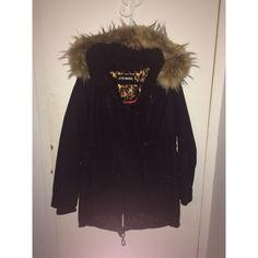 Steve Madden parka with detachable false fur hood. Steve Madden parka with detachable false fur hood. Size Large. Like new. Heavy winter feel. Make an offer! Steve Madden Jackets & Coats