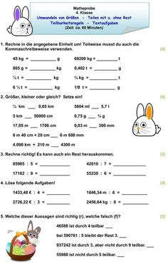 Mental Maths Worksheets, English Stories For Kids, Teaching Profession, Learn German, Kids Education, Teaching Math, Math Lessons, Classroom Management, About Me Blog