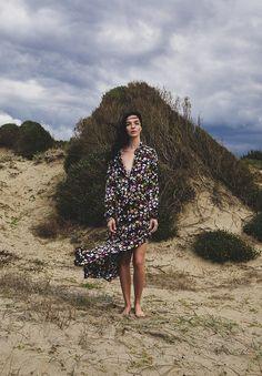 Campaign:Equipment SS 2018. Photography:Alex La Cruz. Hair: Michele Morett. Makeup:Cristiana Ceccarelli. Model:Mariacarla Boscono
