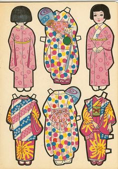 I loved paper dolls as a kid.