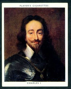 Player's, Kings & Queens of England (large size) 1935. No29 Charles I (reigned 1625-1649)
