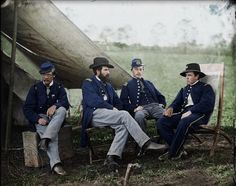 Striking Colorized Photographs Show Soldiers From Both Sides of the American Civil War in Their Military Attire