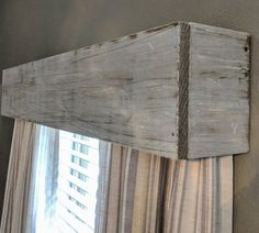 Rustic Home Decor intelligent inside wire - Positively Shabby decor styling arrangements. Have a try at this pin image note 7637868615 , placed under category rustic home decor cheap also posted on 20190515 Rustic Valances, Wooden Valance, Wood Valances For Windows, Window Cornices, Wood Cornice, Window Cornice Diy, Cornice Ideas, Valance Ideas, Rustic Curtains