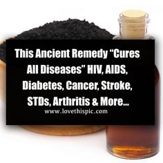 Recent studies have confirmed that black cumin seed oil (nigella sativa) can inhibit cancer cell activity and is an effective cancer treatment, at least in animal studies. The black cumin seed oil and its. Natural Cancer Cures, Natural Cures, Holistic Remedies, Health Remedies, Nigella Sativa Oil, Cells Activity, Causes Of Diabetes, Hiv Aids, Cancer Treatment