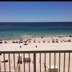 Panama City Beach, FL. Nothing wrong with waking up to an ocean view.