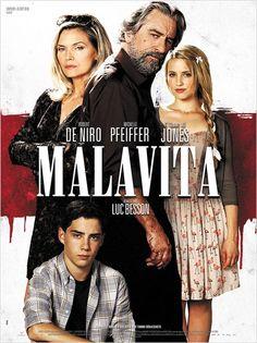 """Malavita"" (The Family"") Directed by Luc Besson Starring Robert De Niro, Dianna Agron, Michelle Pfeiffer, John D'Leo, Tommy Lee Jones Soundtrack by Evgueni Galperine & Sacha Galperine"