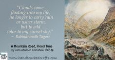 Art Brush, Brush Set, Atkinson Grimshaw, Rabindranath Tagore, Spring Shower, Spring Painting, Spring Weather, Sunset Sky, Rainbows
