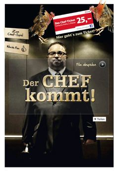 Kampagne: Der Chef kommt — Agentur: Ogilvy Frankfurt — Kunde: DB Mobility Logistics AG — Jetzt noch mehr Kampagnen pur im Fischer`s Archiv! www.fischersarchiv.de