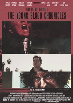 "The Young Blood Chronicles<--- okay, I don't mean to be ""that girl"" but I noticed something lately that doesn't get said often enough: Andy is a babe, okay? There I said it! He looks dang fine in The Young Blood Chronicles!"