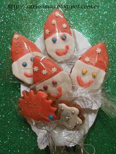 Galletas de jengibre y Feliz Navidad:)